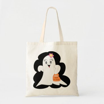 Halloween Themed Cute Halloween Ghost Tote Bag