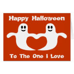 Cute Halloween Ghosts To The One I Love Card