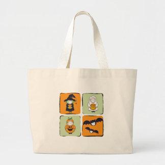 Cute Halloween Jumbo Tote Bag