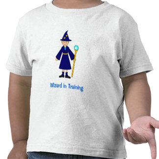 Cute Halloween Kids -- Little Wizard T-shirts