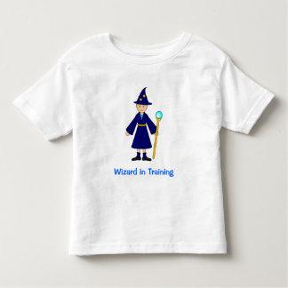 Cute Halloween Kids -- Little Wizard T Shirt