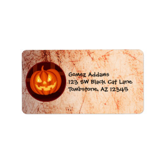 Cute Halloween Lorenzo label