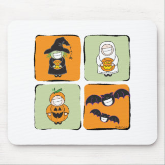 Cute Halloween Mouse Pad