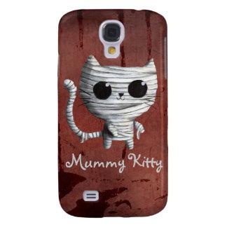 Cute Halloween Mummy Cat Samsung Galaxy S4 Cover