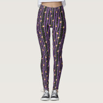 Cute Halloween Night Owl Leggings