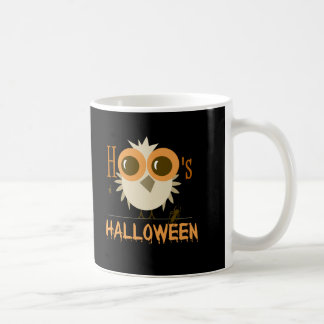 Cute Halloween Owl Mugs f Party Invitations