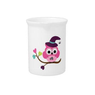 Cute Halloween Owl Drink Pitchers