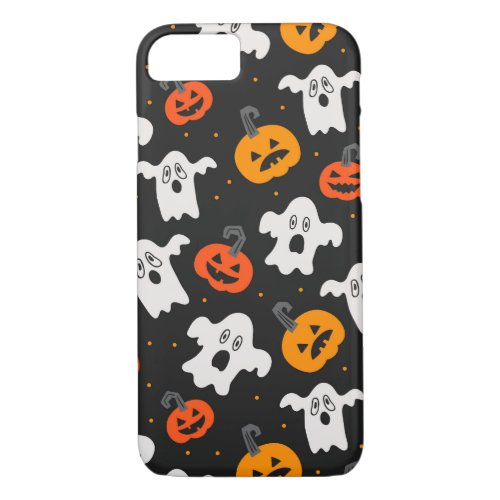 Cute Halloween Patterns iPhone 8/7 Case