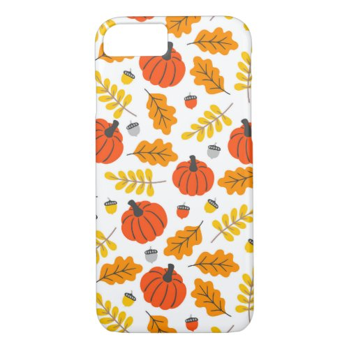 Cute Halloween Patterns iPhone 8/7 Case