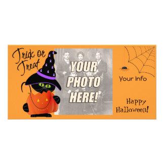 Cute Halloween Photo Cards