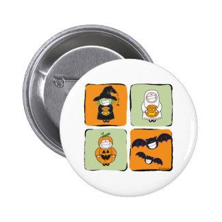 Cute Halloween Pinback Button