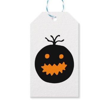 Halloween Themed Cute Halloween Pumpkin Gift Tags