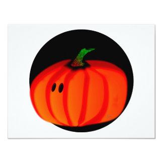 Cute Halloween Pumpkin Invitation