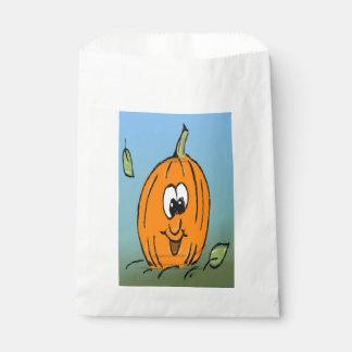Cute Halloween Pumpkin, Jack O' Lantern Favor Bag