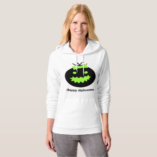 Cute Halloween pumpkin with bow Hoodie