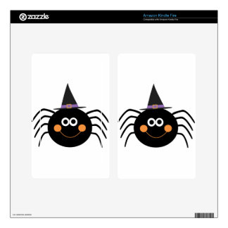 cute halloween spider decal for kindle fire