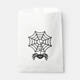 Cute Halloween Spider Favor Bags