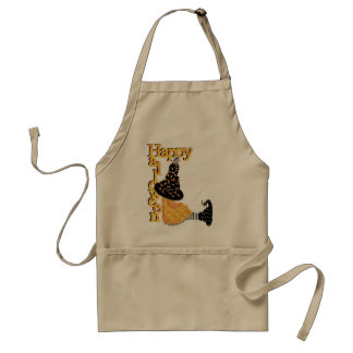 Cute Halloween Witch Apron
