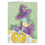 Cute Halloween Witch Cards