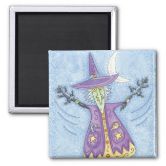 Cute Halloween Witch Magnet