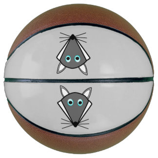 Cute Halloween Wolf Basketballs Basketball