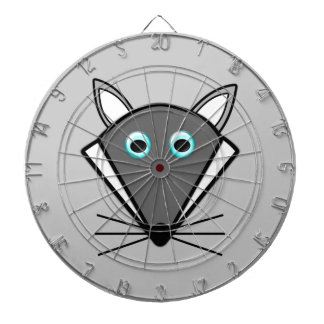 Cute Halloween Wolf Dart Board