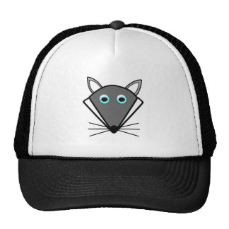 Cute Halloween Wolf Hat Mesh Hats