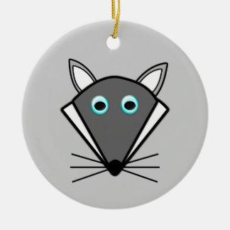 Cute Halloween Wolf Ornament Christmas Tree Ornament