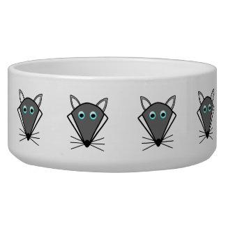 Cute Halloween Wolf Pet Bowl