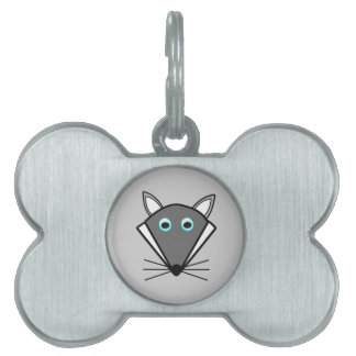 Cute Halloween Wolf Pet Tag