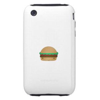 Cute hamburger tough iPhone 3 covers