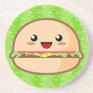 Cute Hamburger Coaster