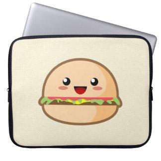 Cute Hamburger Laptop Sleeve