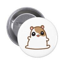 Cute Hamster Button