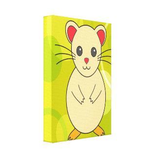 Cute Hamster Canvas Print