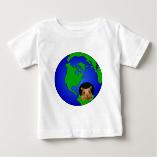 Cute Hamster Earth Ball T-shirt