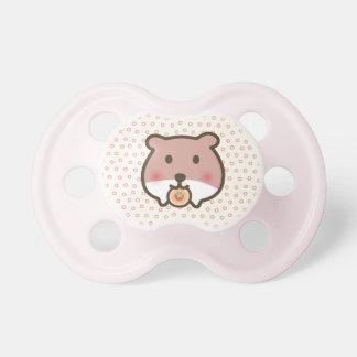 Cute hamster pacifier