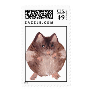 Cute Hamster Stamp