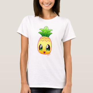 Cute Hand Drawn Pineapple Women's Shirt