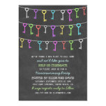 Cute Hanging Keys New Home Housewarming 5x7 Paper Invitation Card