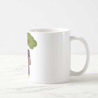 Cute Hanging Monkey Classic White Coffee Mug