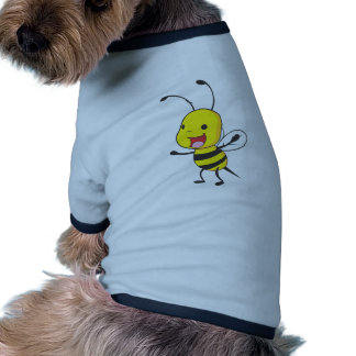 Cute Happy Baby Bee Arms Open Wide Dog Clothes