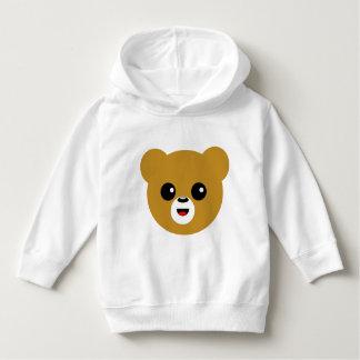 Cute Happy Bear Face Hoodie