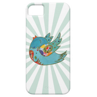 Cute happy bird iPhone 5 covers