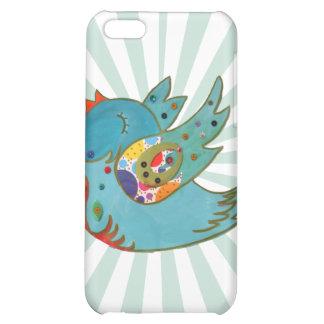 Cute happy bird iPhone 5C cases