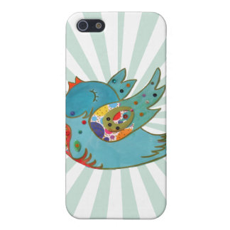 Cute happy bird case for iPhone 5