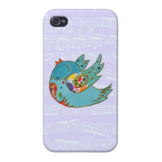 Cute happy bird cases for iPhone 4