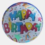 Cute Happy Birthday stickers