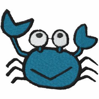 cute happy blue crab med