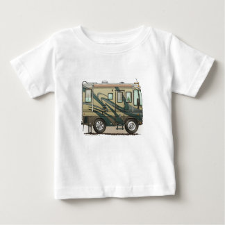 Cute Happy Camper Big RV Coach Motorhome Baby T-Shirt